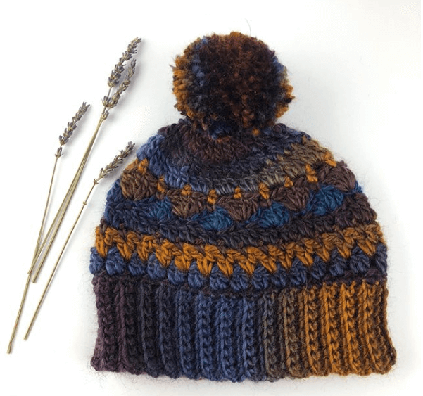 Photo of Sweet Harmony PomPom Hat