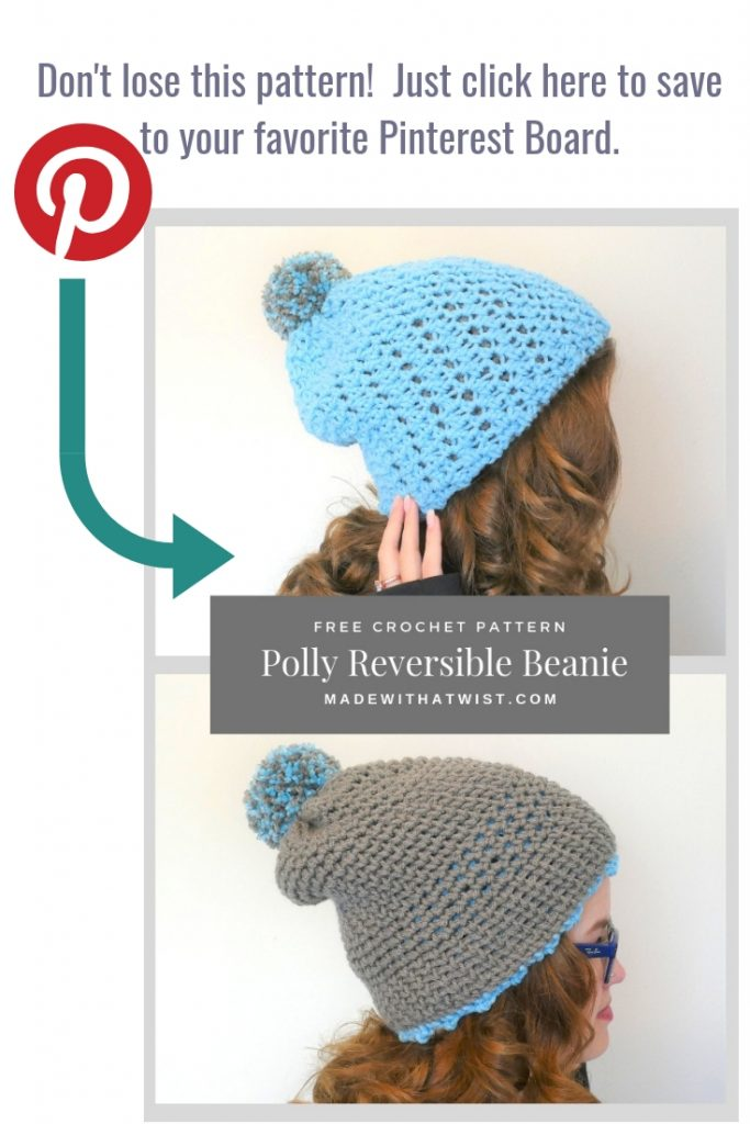 A reminder to pin this image in your Pinterest crochet related boards