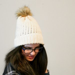Photo of Crochet Breckenridge Double Brim Beanie