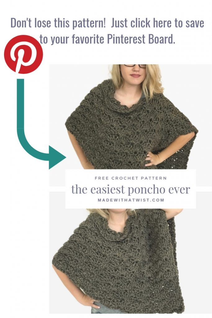 Image reminding readers to pin this pattern to their favorite crochet pattern board on Pinterest