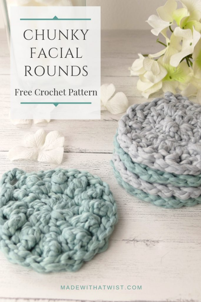Facial Scrubbies Crochet Pattern