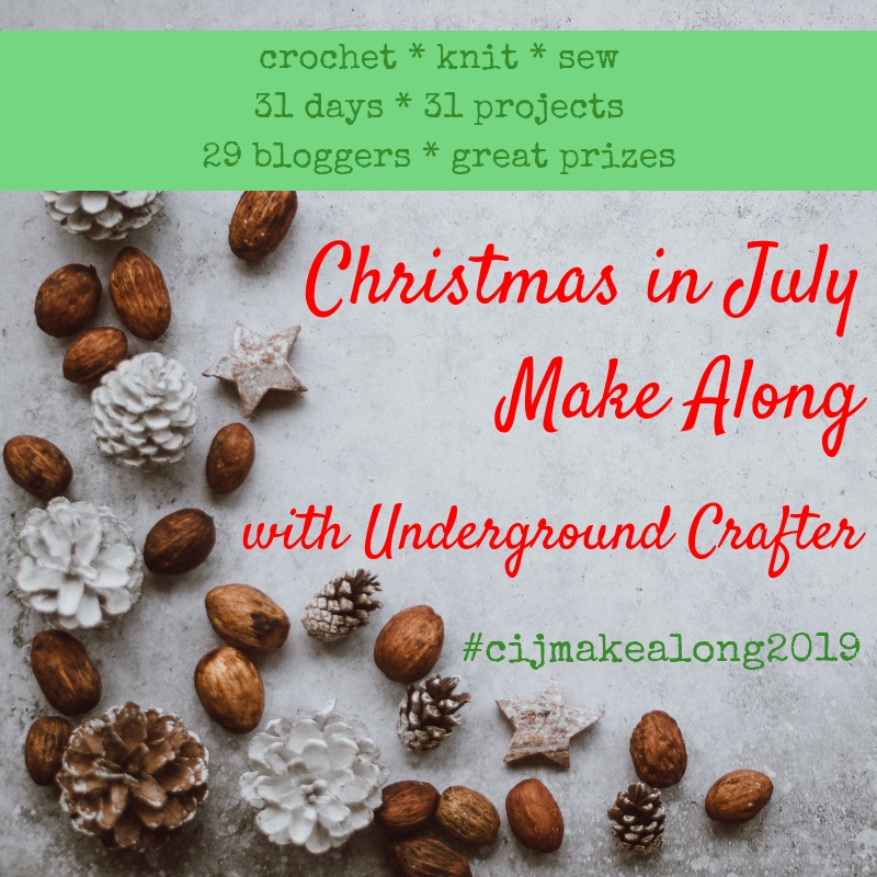 Christmas in July graphic for crafters