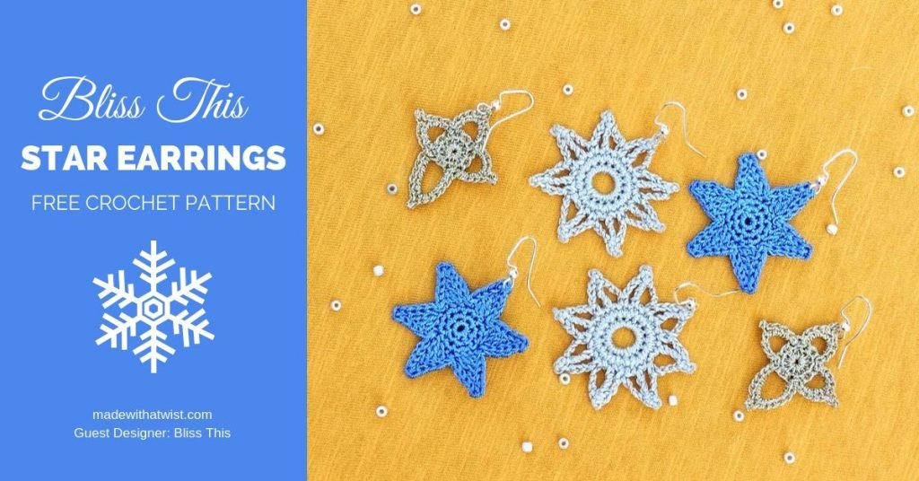 Photo of the Bliss This Star Earrings FREE 3 jewelry design