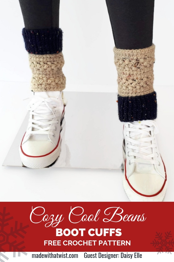 Free Boot Cuffs Crochet Pattern For Beginners