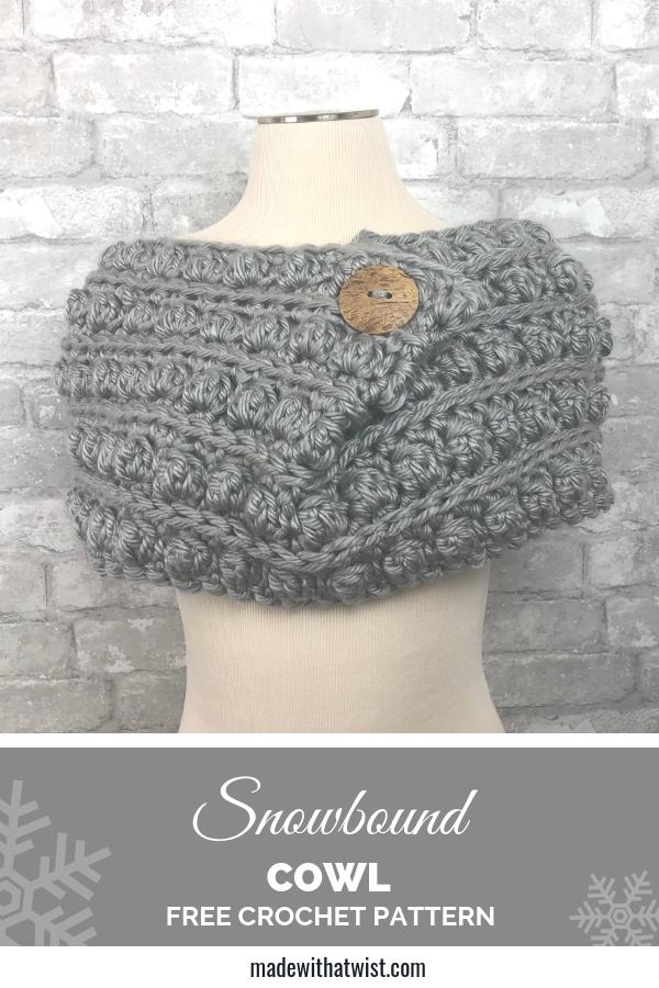 Snowbound Cowl Free Crochet Pattern