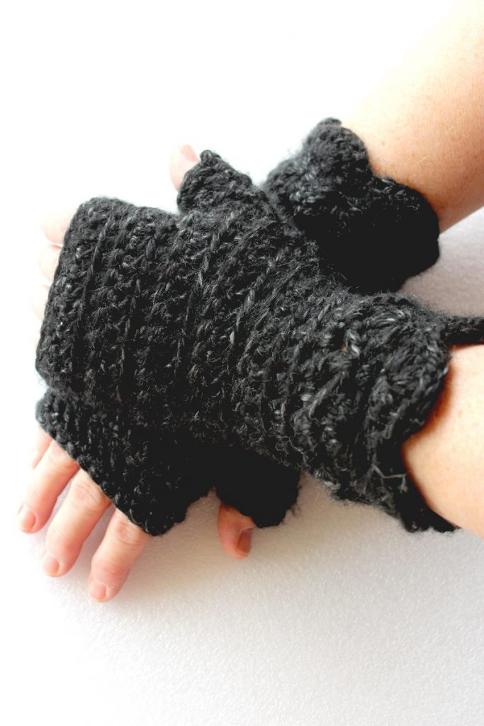 Photo of  Nessa's Choice fingerless mittens