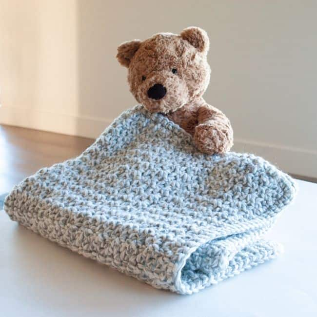 Quick and Chunky Baby Blanket