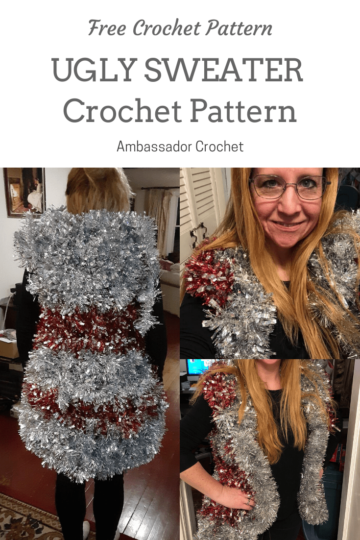 Ugly Sweater Crochet Pattern