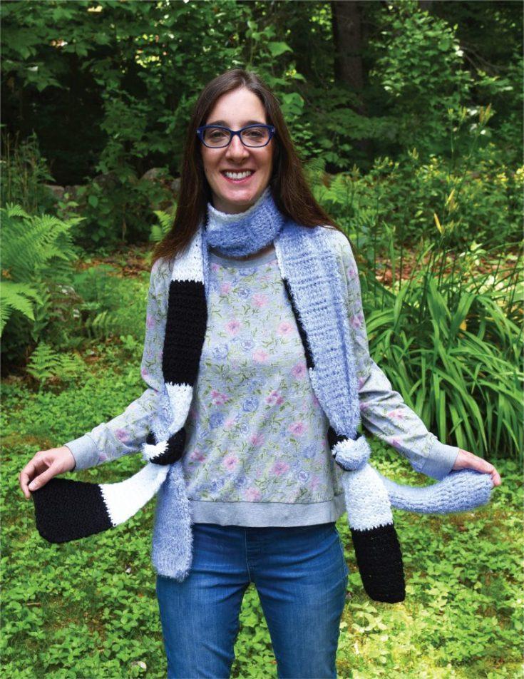 Double Knot Scarf - Free Crochet Pattern